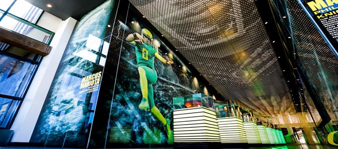 University of Oregon sports science center