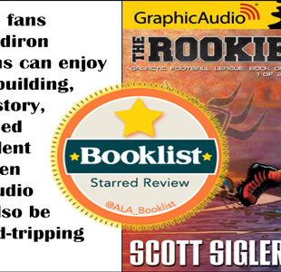 Young Adult novel THE ROOKIE gets starred review from Booklist